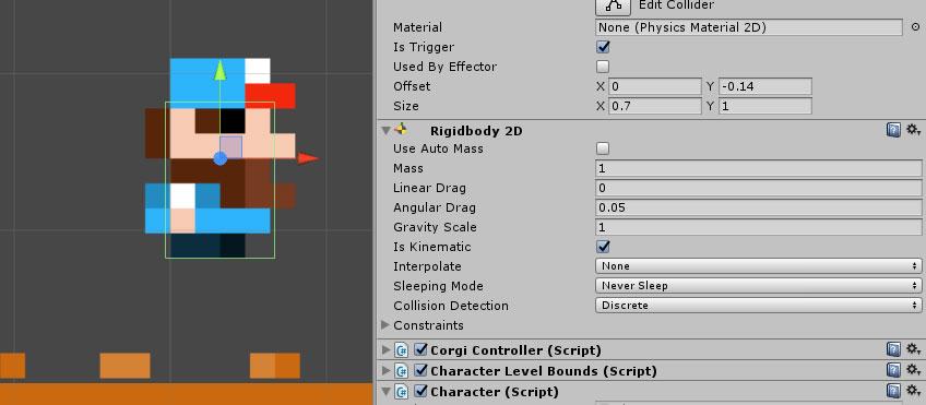 Character Classes | Corgi Engine Documentation